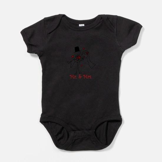 Mr And Mrs Baby Bodysuit