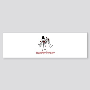 Together Forever Bumper Sticker