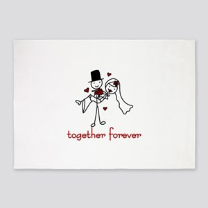 Together Forever 5'x7'Area Rug