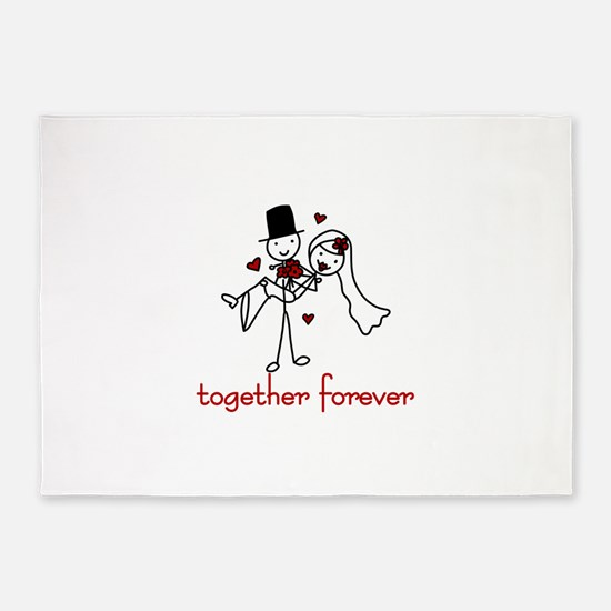 Together Forever 5'x7'Area Rug