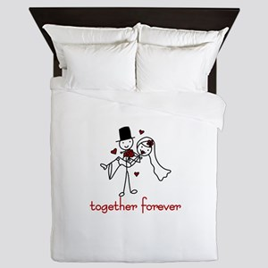 Together Forever Queen Duvet
