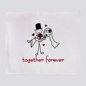 Together Forever Throw Blanket