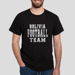 Bolivia Football Team Dark T-Shirt