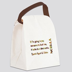 DOMINATRIX Canvas Lunch Bag
