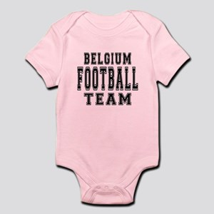 Belgium Football Team Infant Bodysuit