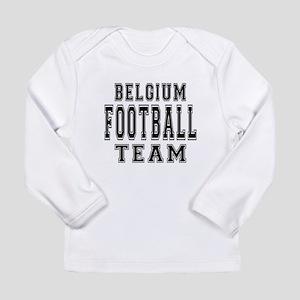 Belgium Football Team Long Sleeve Infant T-Shirt