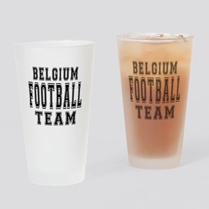 Belgium Football Team Drinking Glass