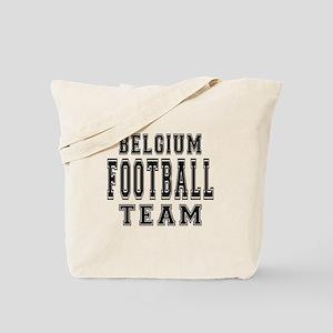 Belgium Football Team Tote Bag