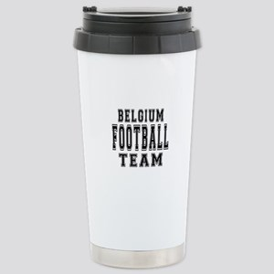 Belgium Football Team Stainless Steel Travel Mug