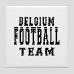 Belgium Football Team Tile Coaster