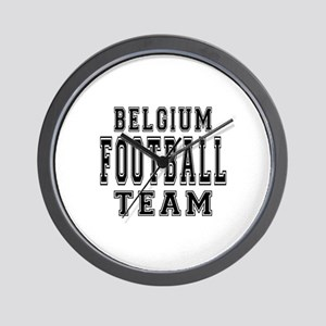 Belgium Football Team Wall Clock