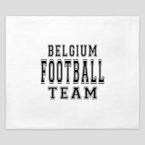 Belgium Football Team King Duvet