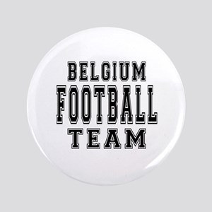 "Belgium Football Team 3.5"" Button"