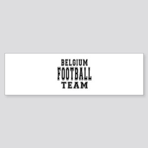 Belgium Football Team Sticker (Bumper)