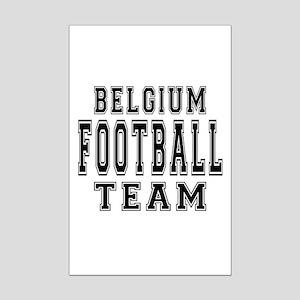 Belgium Football Team Mini Poster Print