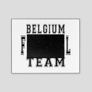 Belgium Football Team Picture Frame