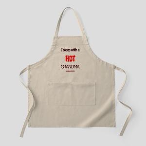 Grandpa's Hot Grandma BBQ Apron