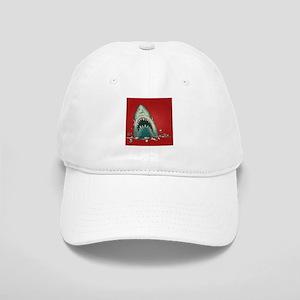 Shark Attack Baseball Cap