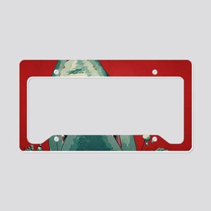 Shark Attack License Plate Holder