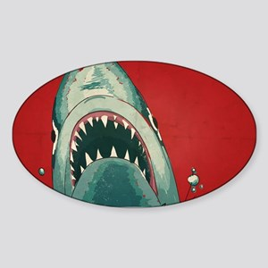 Shark Attack Sticker