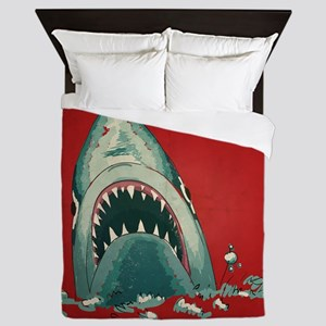 Shark Attack Queen Duvet