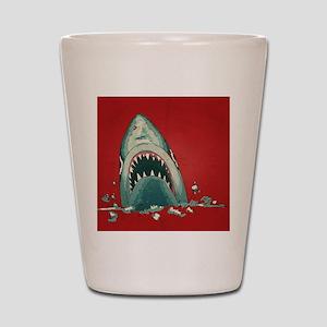 Shark Attack Shot Glass