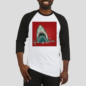 Shark Attack Baseball Jersey