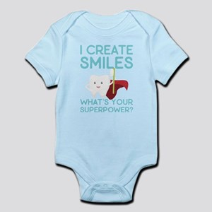 I create Smiles What's Your Super Power Body Suit