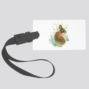 Cute Watercolor Bunny Rabbit Animal Art Large Lugg