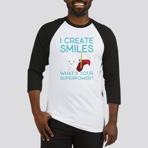 I create Smiles What's Your Super Baseball Jersey