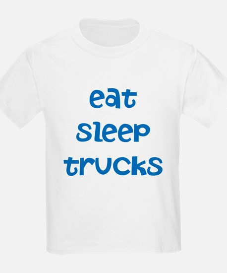 Unique Eat sleep truck T-Shirt