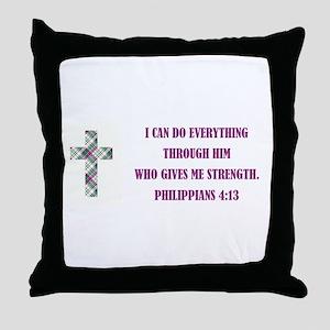 I CAN DO... Throw Pillow