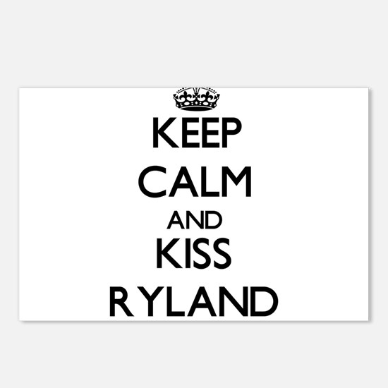 Keep Calm and Kiss Ryland Postcards (Package of 8)