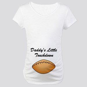Touchdown (belly image)Maternity T-Shirt