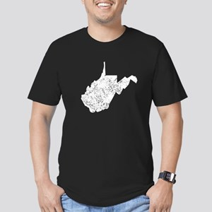 Distressed West Virginia Silhouette T-Shirt