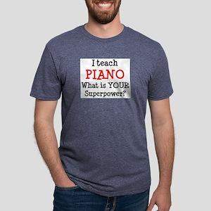 teach piano Mens Tri-blend T-Shirt