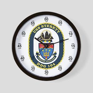 USS Sterett DDG-104 Wall Clock