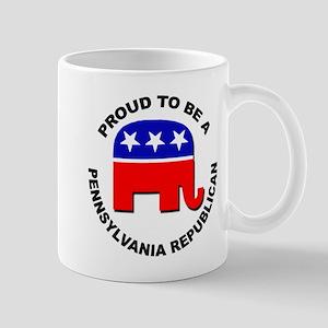 Proud Pennsylvania Republican Mug