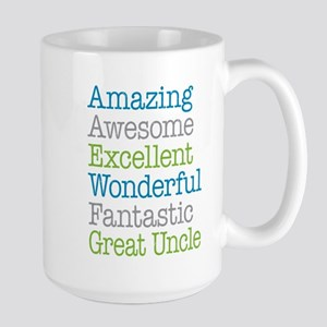 Great Uncle - Amazing Fantastic Large Mug
