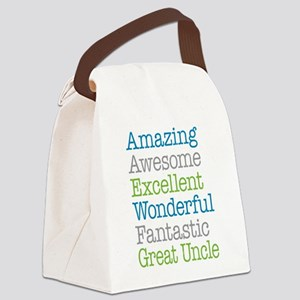 Great Uncle - Amazing Fantastic Canvas Lunch Bag
