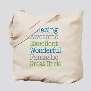 Great Uncle - Amazing Fantastic Tote Bag