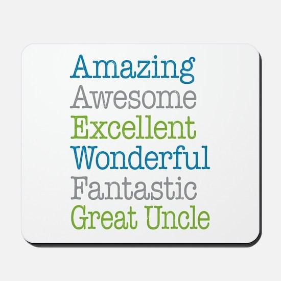 Great Uncle - Amazing Fantastic Mousepad