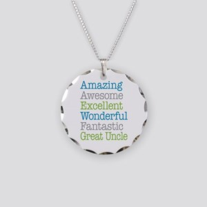 Great Uncle - Amazing Fantas Necklace Circle Charm