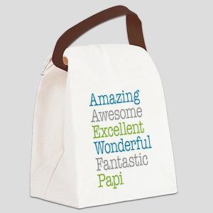 Papi - Amazing Fantastic Canvas Lunch Bag