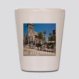downtown st augusitne Shot Glass