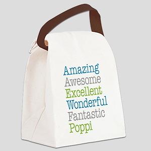 Poppi - Amazing Fantastic Canvas Lunch Bag