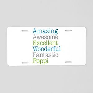 Poppi - Amazing Fantastic Aluminum License Plate