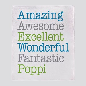 Poppi - Amazing Fantastic Throw Blanket