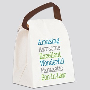 Son-In-Law Amazing Fantastic Canvas Lunch Bag