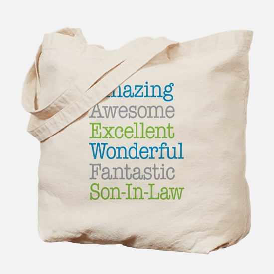 Son-In-Law Amazing Fantastic Tote Bag